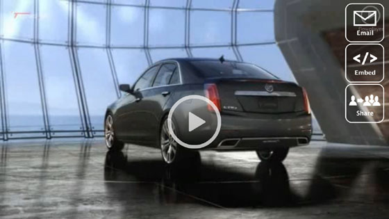 Cadillac CTS 2014 Trailer